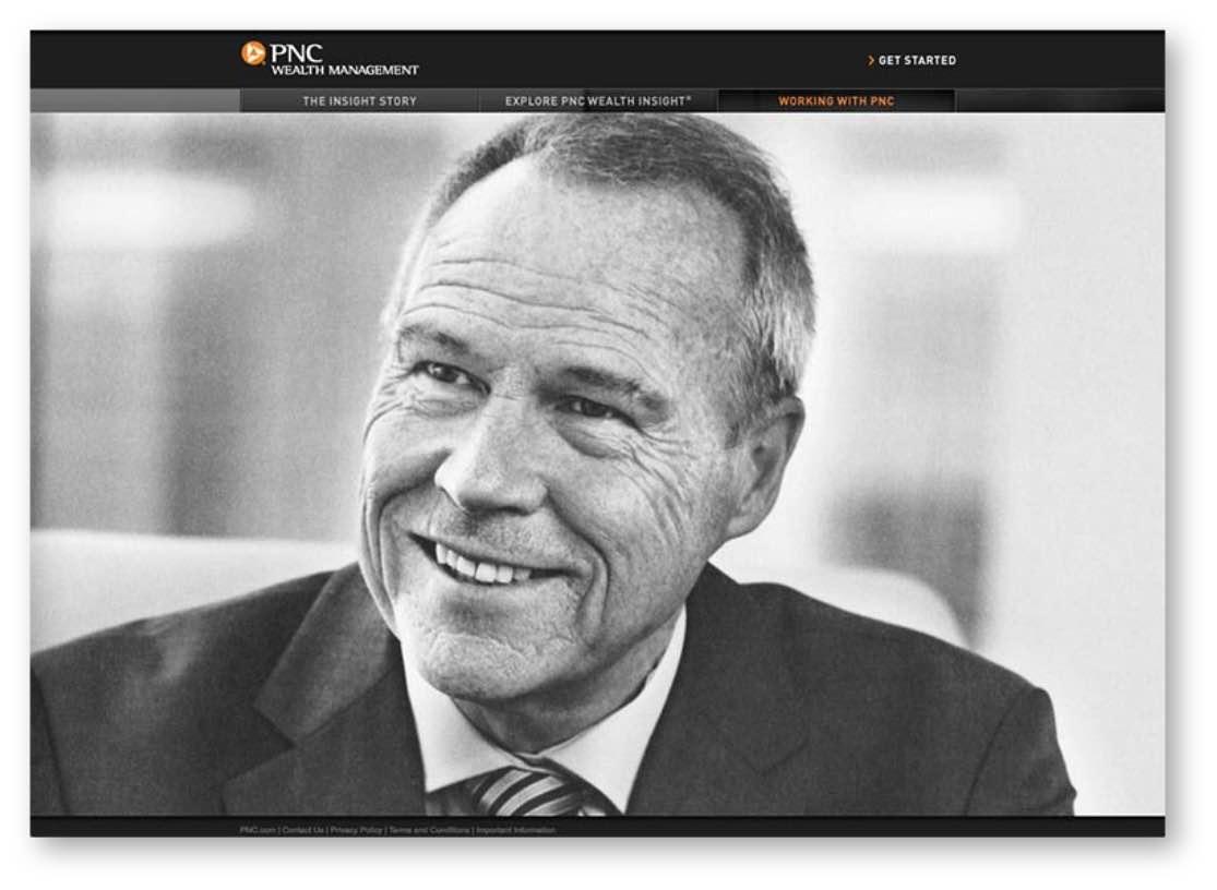 PNC Wealth Management microsite